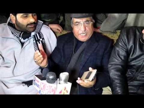 Ghulam Hassan Mir,  kashmir headlines /Arshid mir