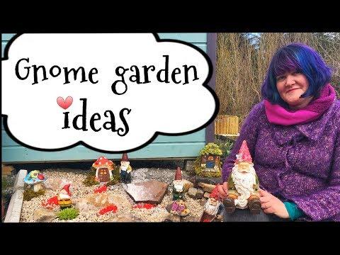Gnome Fairy Garden Ideas
