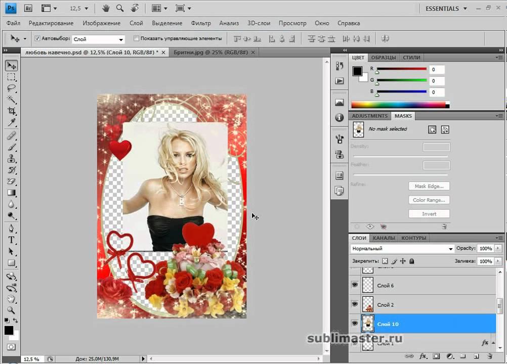 Вставляем фото в рамку с помощью Photoshop - PC-Profy.info