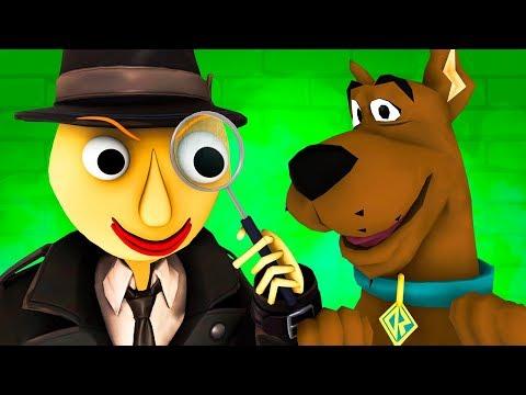Балди и Скуби-Ду Vs Мисс Т (Страшная Учительница Scary Teacher Baldi Детектив Хоррор 3D Анимация)