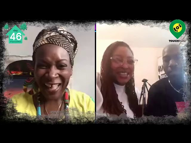 Touchroad interviews Eloheema & Skiphalako@Shutterdown Festival UK Live,Virtual Festival2020