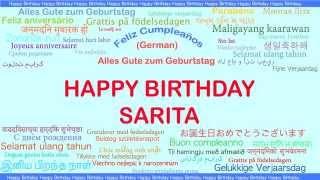 Saritaindian Indian pronunciation   Languages Idiomas - Happy Birthday