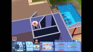 Sims 3 wtf? (Death - Killing - Scary)