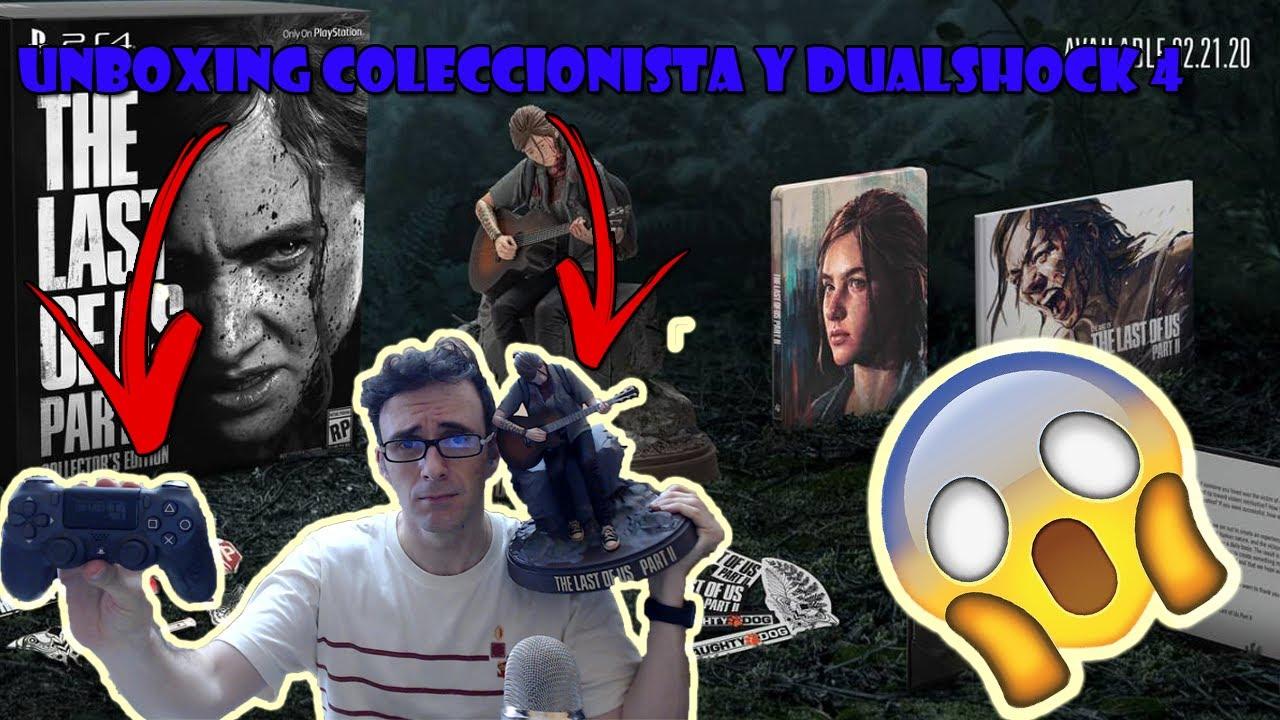 THE LAST OF US PART II  || EDICIÓN COLECCIONISTA + DUALSHOCK 4 || UNBOXING ESPAÑOL