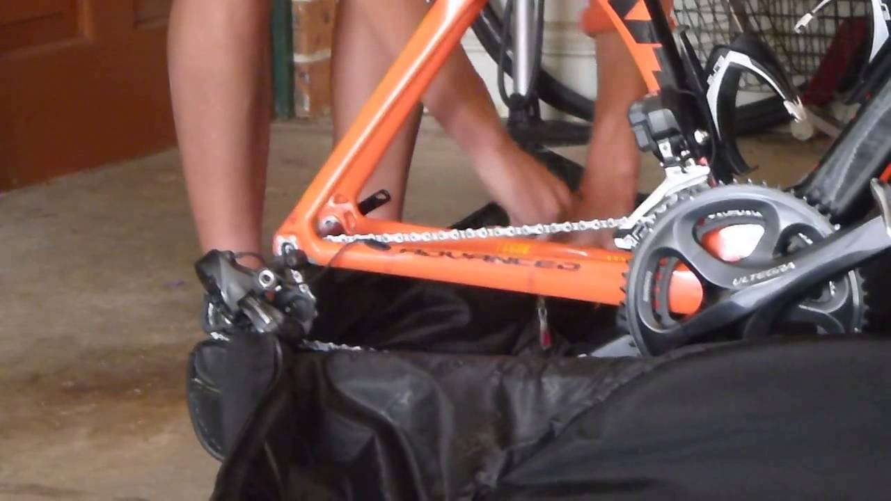 How To Pack A Giant Bike In The Scicon Aerocomfort 2 0 Bike Bag