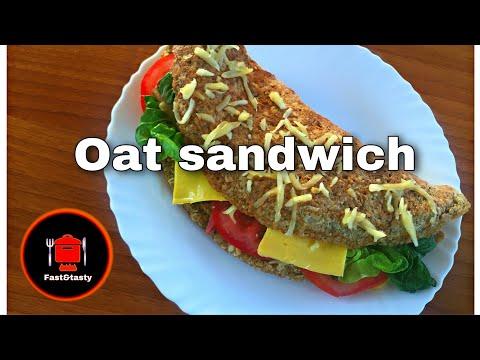عشاء سهل وسريع بموكونات بسيطة وصحية Best Sandwich for diet and-lose weight