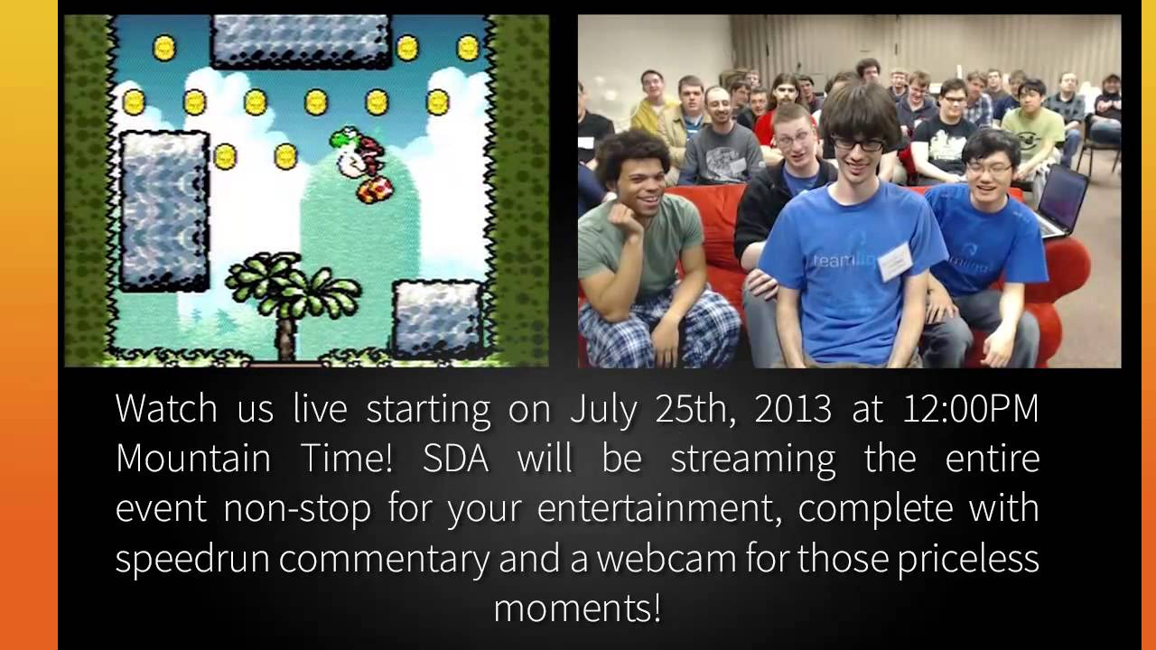 Summer Games Done Quick 2013 Promo A Speed Demos Archive