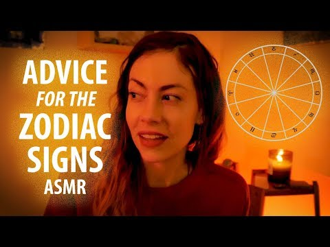 Advice for Zodiac Signs, ASMR