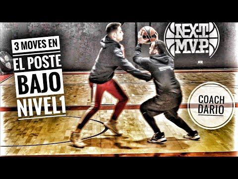3 moves en el poste bajo (nivel 1) - Coach Dario - Basketballfundamentals