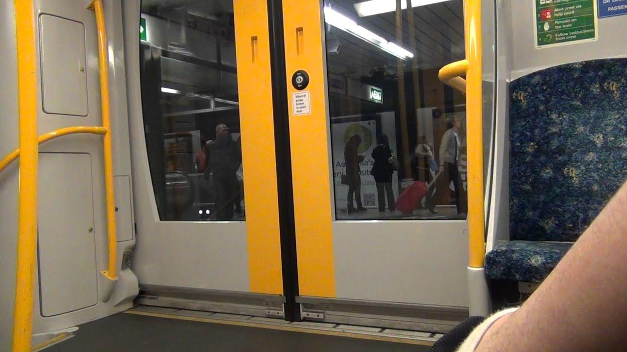 cityrail oscar train door slams shut & cityrail oscar train door slams shut - YouTube