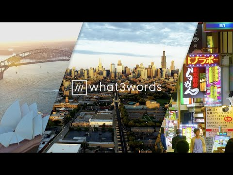 About us - what3words