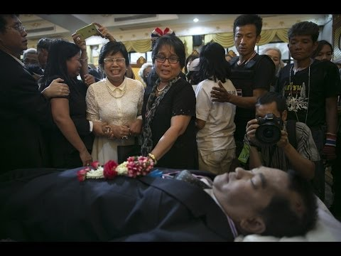 Thailand Anti gov't protest leader killed in Bangkok    Jan 26, 2014