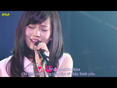 [Vietsub+Kara] Migi kata - Maeda Atsuko (Seventh Chord 1st Live)