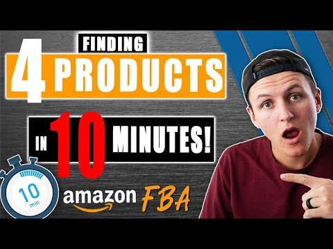 Amazon FBA Product Research Technique Found Me 4 Products in 10 Minutes!