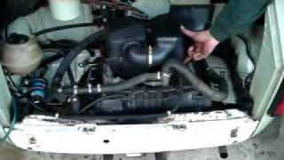 Fiat 126 tuning mit BMW K75-Motor.MP4