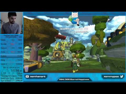 [World Record] Ratchet and Clank All Gold Bolts Speedrun in 1:02:35