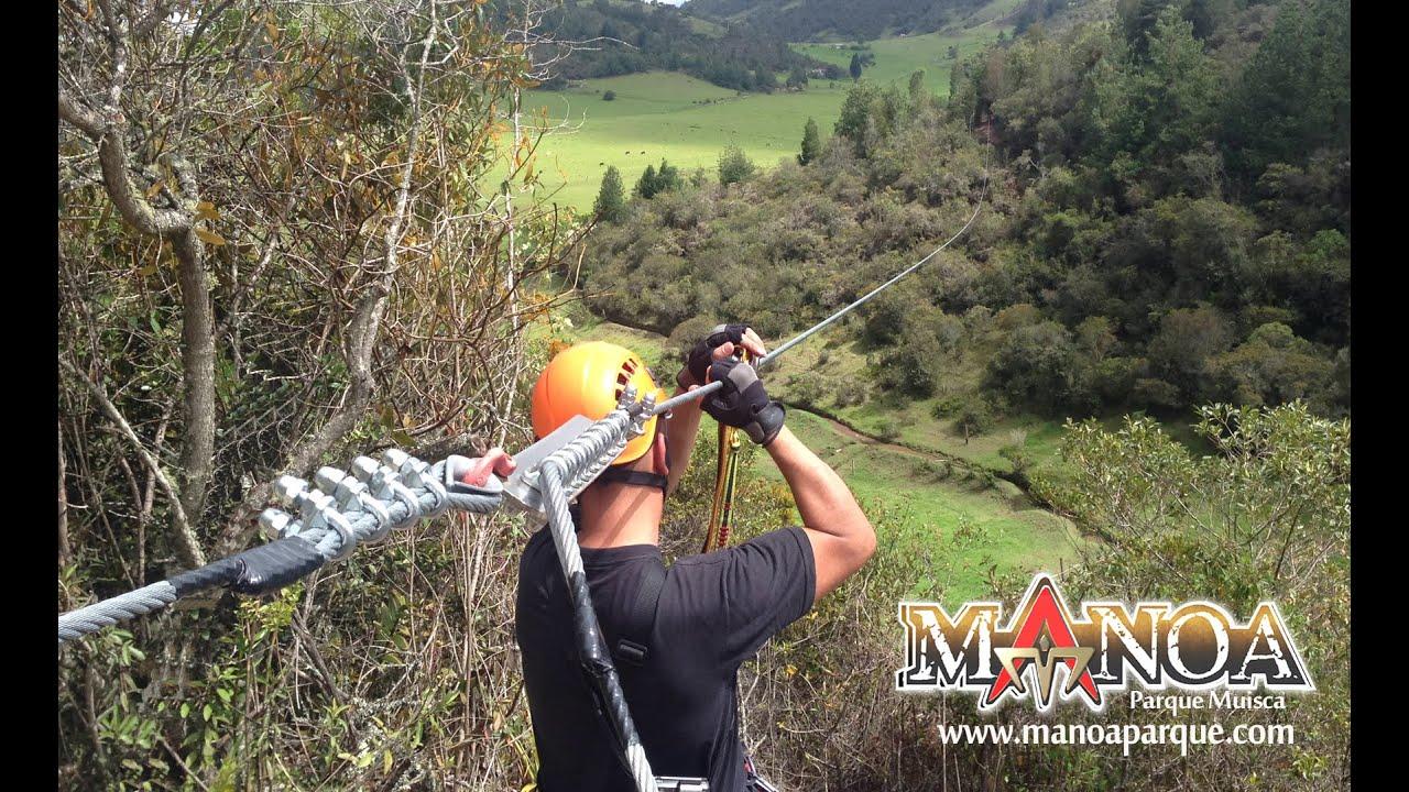 Juegos Extremos Manoa Parque Paipa Boyaca Youtube