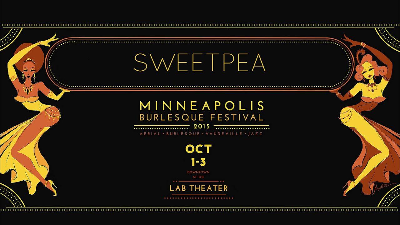 "Sweetpea ""The Good Ride"" at the Minneapolis Burlesque Festival"
