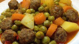 Misket Köfteli Orman Kebabı -Yemek Tarifleri