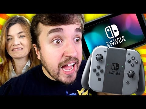 O VIDEO GAME MAIS AMARGO DO MUNDO! - Nintendo Switch Unboxing