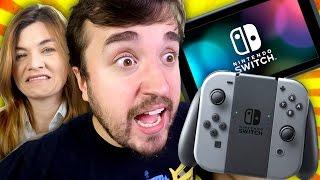 O VIDEO GAME MAIS AMARGO DO MUNDO! - Nintendo Switch Unboxing