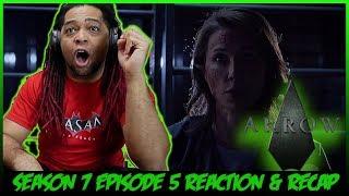 ARROW Season 7 Episode 5 Reaction & Recap Show! (