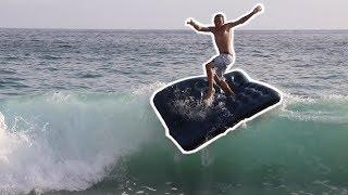 SURFING AN AIR MATTRESS