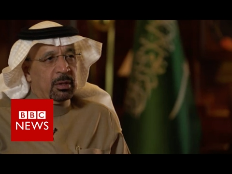 Saudi oil minister welcomes Trump era - BBC News
