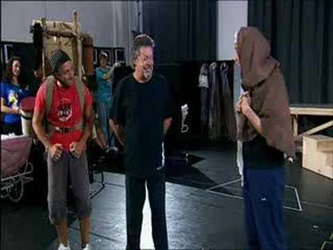 Tim Curry - Spamalot REHEARSALS !! - Original London Cast