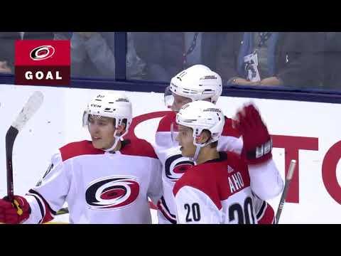Carolina Hurricanes vs Columbus Blue Jackets - November 10, 2017 | Game Highlights | NHL 2017/18