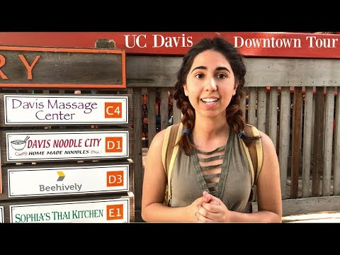 UC DAVIS DOWNTOWN TOUR