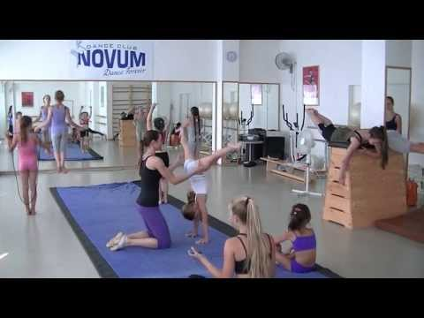 Gymnastic classes by Evka