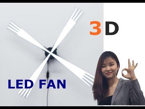 3D Hologram LED Fan Display | 360DS