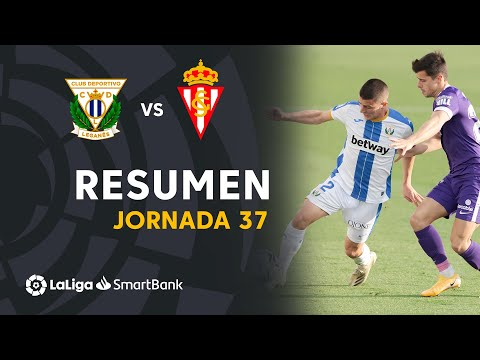 Leganes Gijon Goals And Highlights