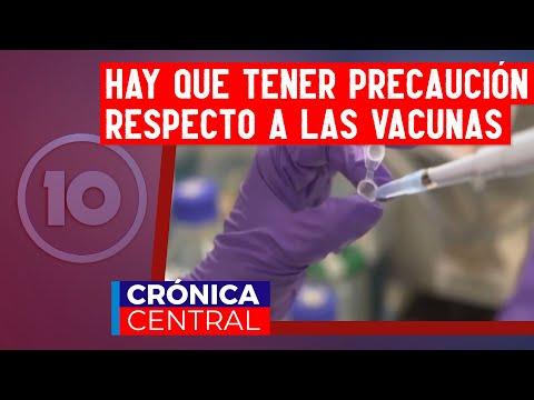 """Hugo Pizzi sobre las vacunas: """"Hay que tener prudencia"""""""