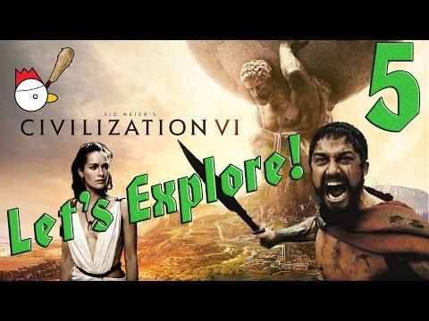 CIVILIZATION VI [ITA] Let's Explore 5# - QUESTA È SPARTAAAAA!