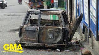 Haiti still reeling in shock