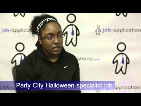 Party City Interview - Halloween Specialist