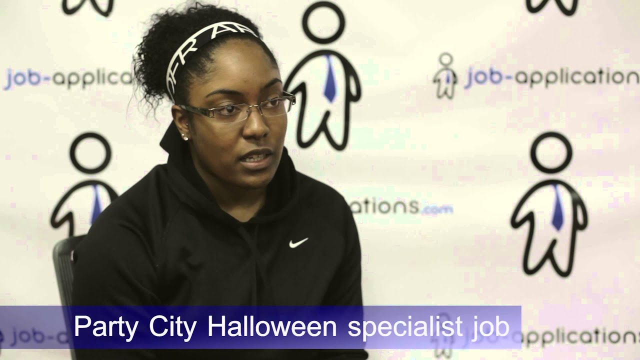 Party City Interview - Halloween Specialist - YouTube