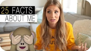 25 Facts about me ♡ | AnaJohnson
