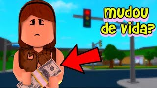 THE GIRL WHO SOLD SWEETS ON THE SIGN WON A NEW LIFE! (Historinha No Roblox)