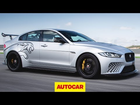 Jaguar XE SV Project 8 - 592bhp super saloon 2018 review | Autocar