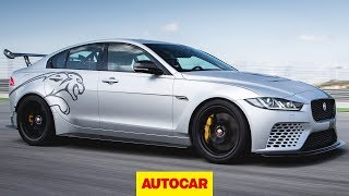 Jaguar XE SV Project 8 - 592bhp super saloon 2018 review | Autocar