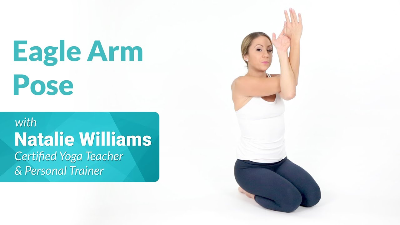 How to Do Eagle Arm Pose