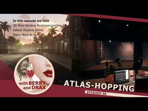 Atlas-Hopping in Linden Lab's Sansar with Berry & Drax - Episode 6 - September 21st 2017