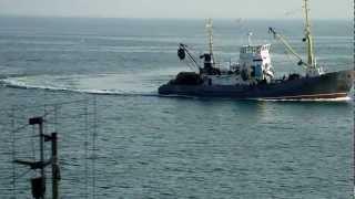 Лов хамсы в Керченском проливе.MP4