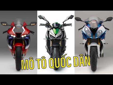 DRIVE TV | Những chiếc mô tô phân khối lớn được yêu thích nhất tại Việt Nam