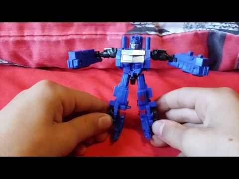 Optimus prime mini from Tesco