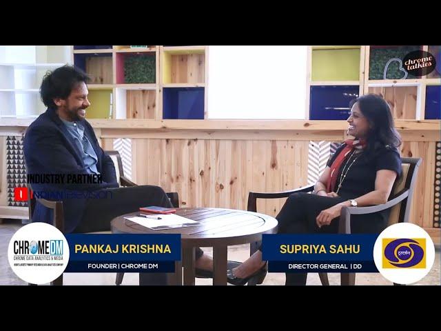 Chrome Talkies S1 Ep9 - Supriya Sahu, Director General - Doordarshan Promo; Jan 2019