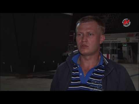 Во Дворце спорта кузнецких металлургов устанавливают видеокуб